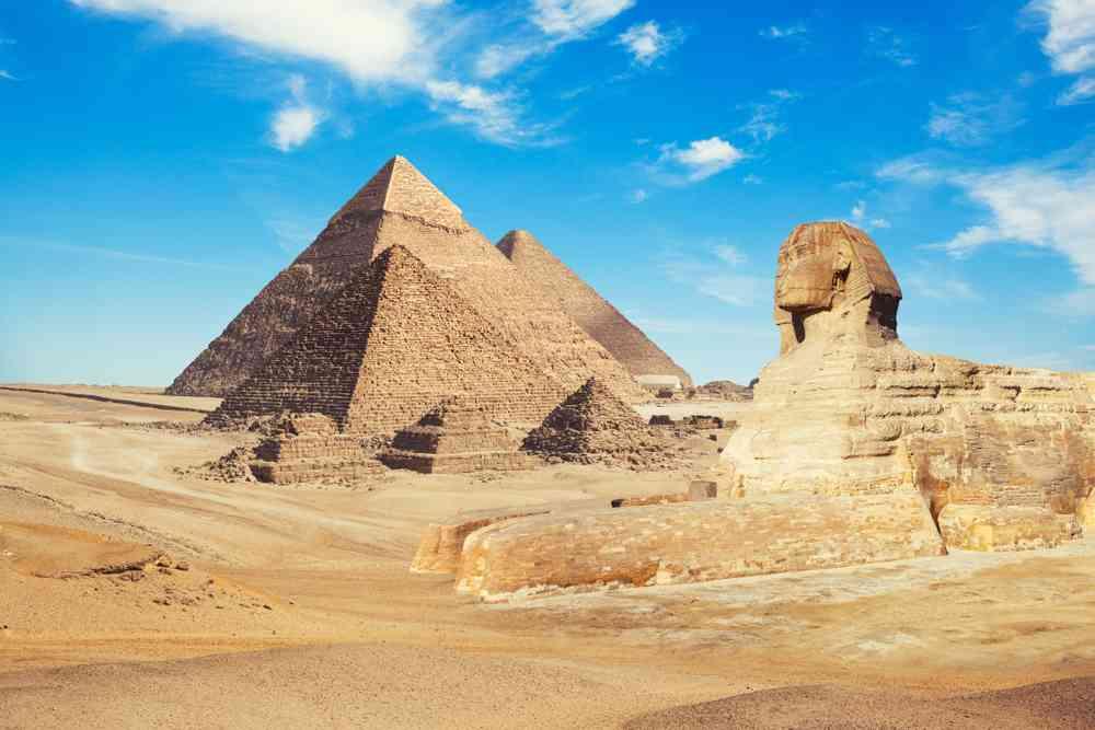 Les fabuleuses pyramides d'Egypte