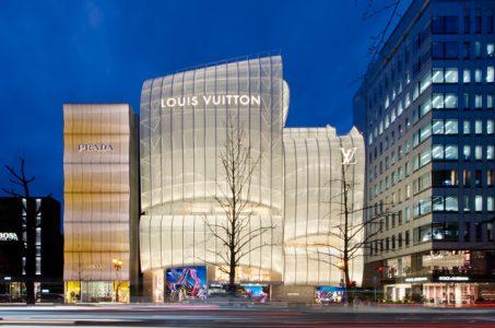 La Maison Osaka Midosuji de Vuitton